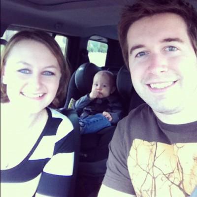 Eli's New Car Seat